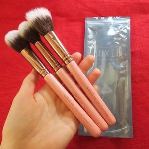 Luxie Rose Gold Brush Set New! + Gift